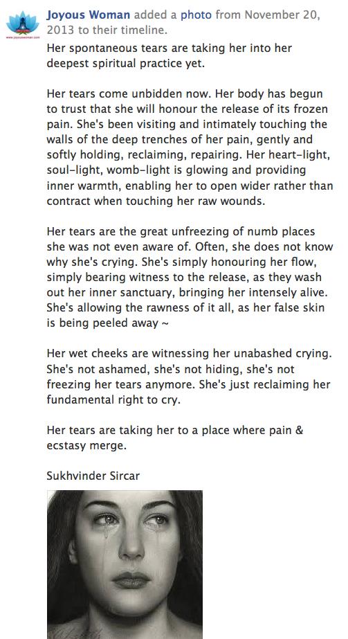 Tears-DeepestSpiritualPractice