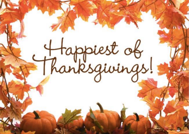 Happiest Thanksgivings
