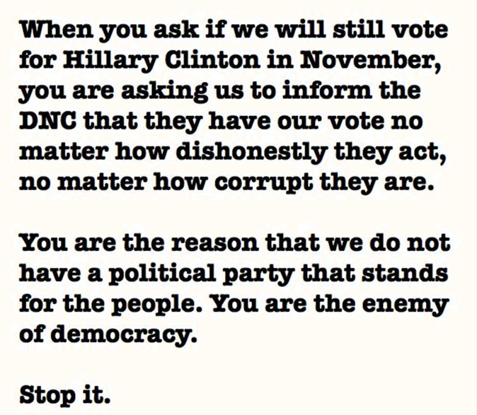 DNC - Enemy of Democracy