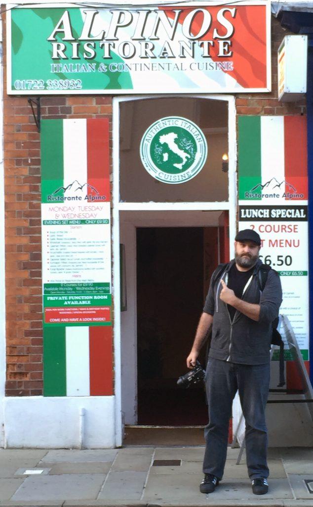 Alpinos Italian Restaurant - Salisbury 6-17-2016