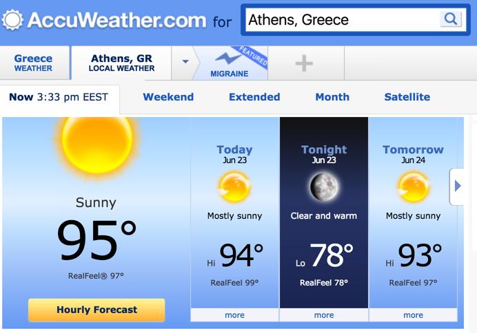 Athens Heat 6-23-2016