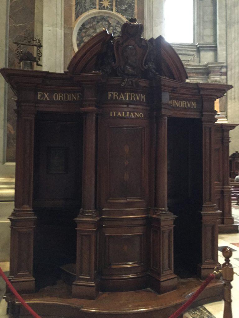 Basilica Confessional