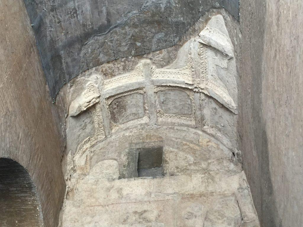 Colosseum ceiling shot
