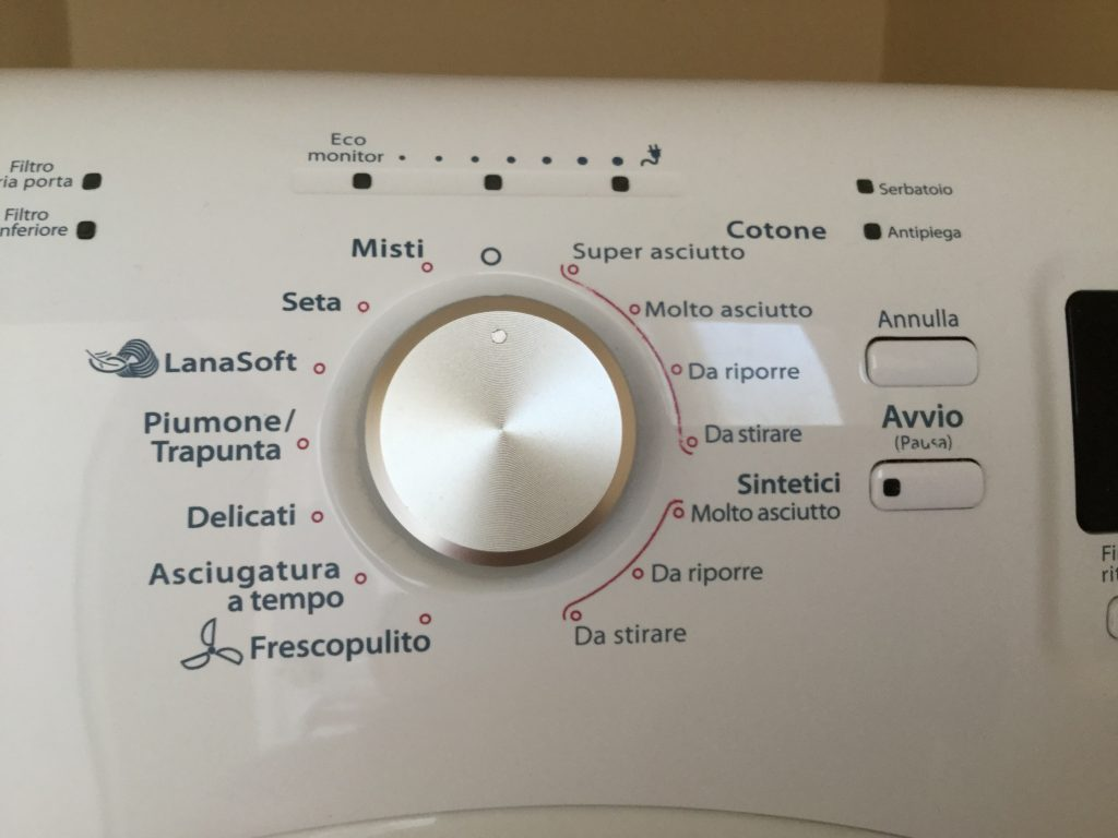 Dryer - in Italian