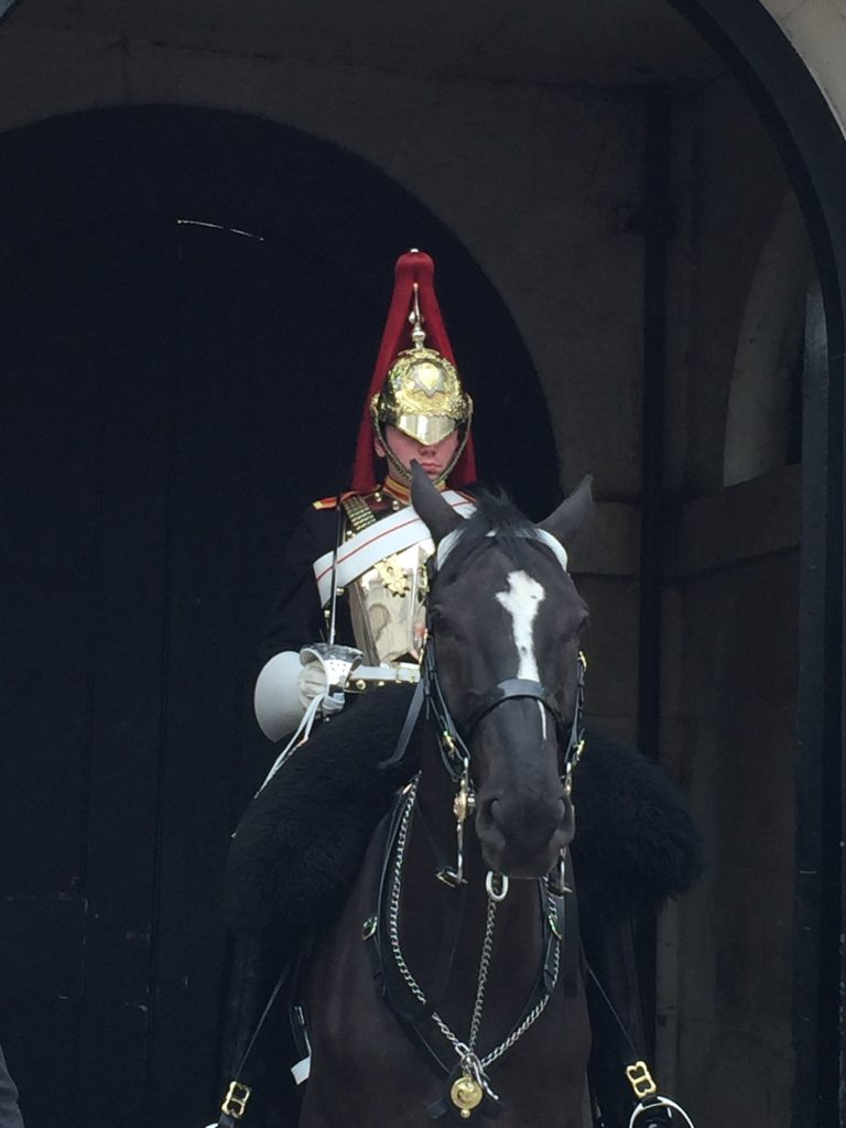 Fancy Riding Guard - London 6-16-2016