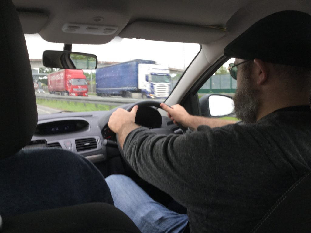 Matt Driving in Ireland