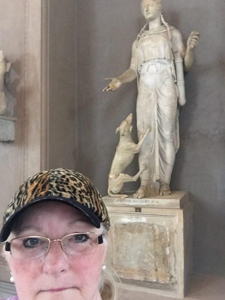 Me selfie - Vatican Museum