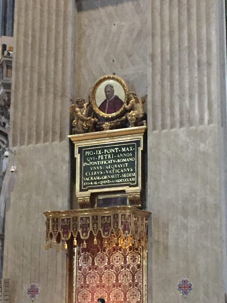 Pio IX - Basilica Rome