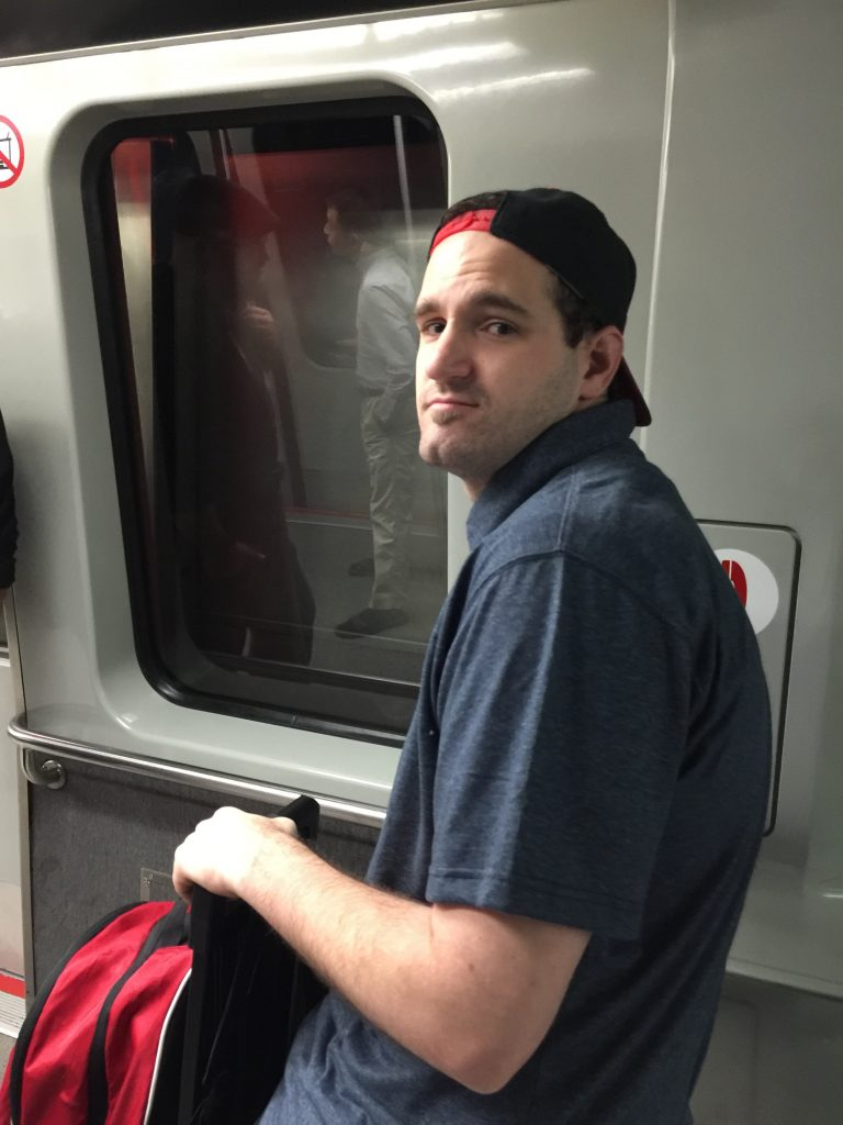 Ryan on Seattle to MSP leg of NY trip 6-3-2016