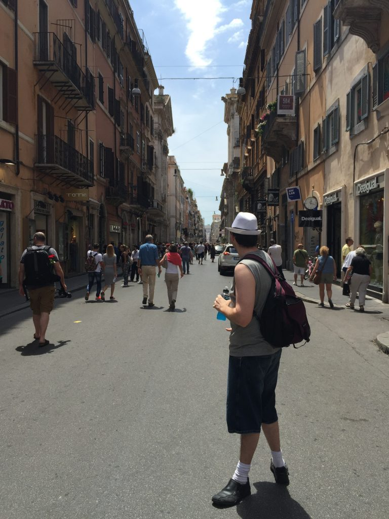 Ryan - streets of Rome