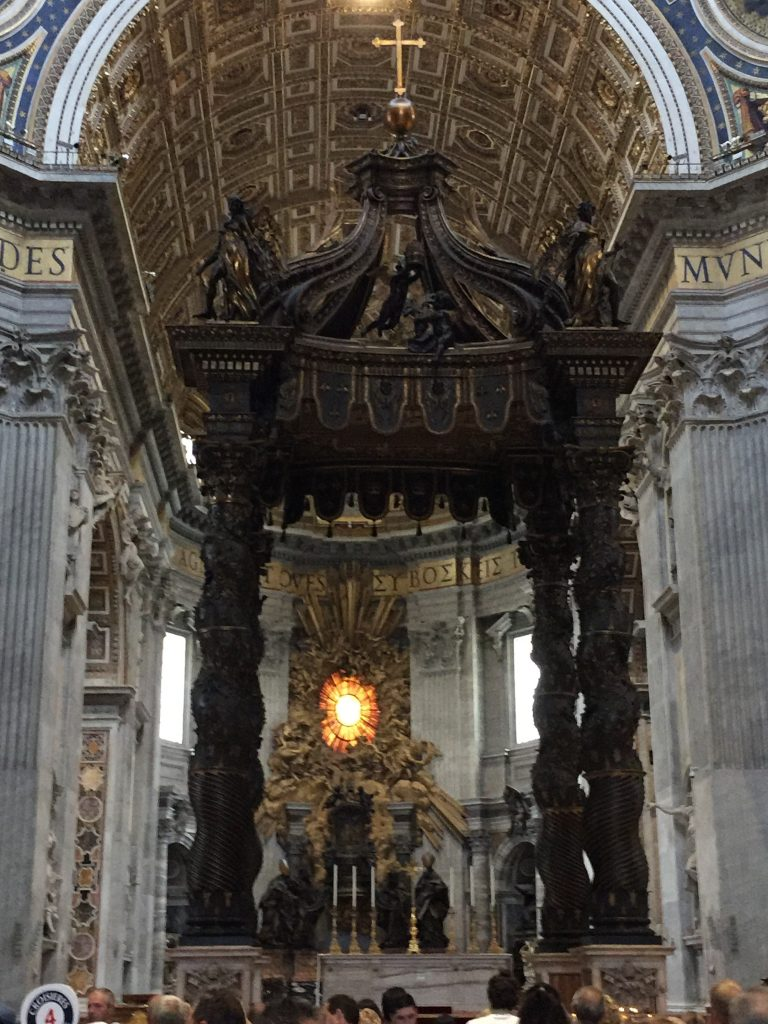 St Peters Basilica alter