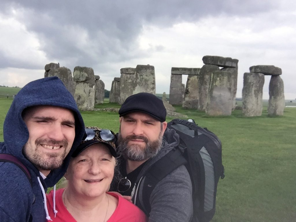 Stonehenge Family Pic - 6-17-2016
