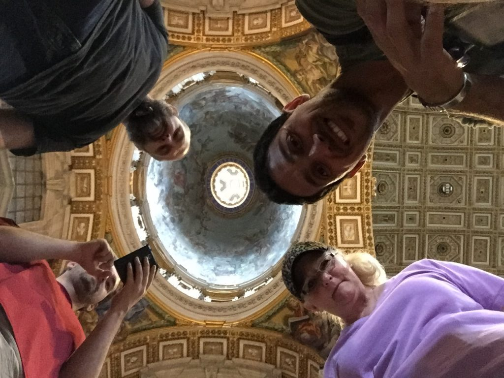 Vatican Tour Group Pic
