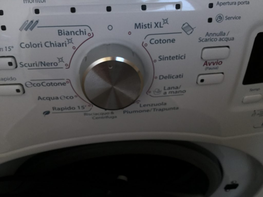 Washer - in Italian
